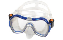 V3TEC Win MD Tauchmaske blau-transparent M
